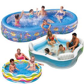 Inflatable Wading Pools