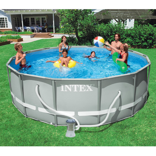 Buy an intex t joint 14 39 x 42 ultra frame pool for for Metal frame swimming pool 12 x 39