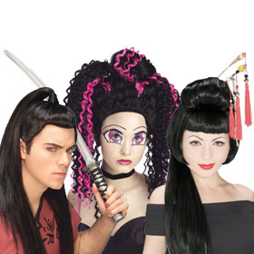 Japanese and Asian Wigs