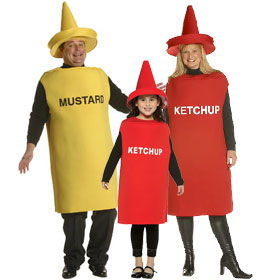 Ketchup u0026 Mustard Costumes  sc 1 st  Brands On Sale & Food and Drink Halloween Costumes