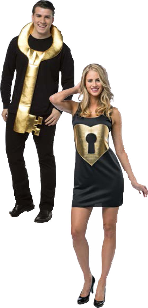 Key To My Heart Costume