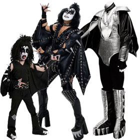 KISS Demon Costumes