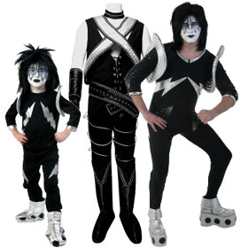 KISS Spaceman Costumes