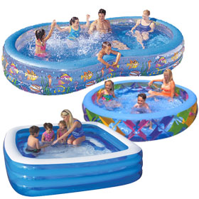 Large Inflatable Pools