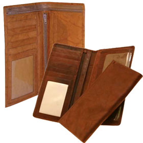 Leather Checkbook Covers