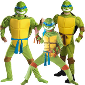 Adult Teenage Mutant Ninja Turtle Costume. $29.99. Leonardo Costumes  sc 1 st  Brands On Sale & Teenage Mutant Ninja Turtles Costumes | Nickelodeon Cartoon Costumes ...