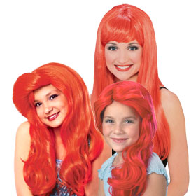 Little Mermaid Ariel Wigs