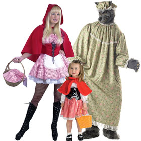 Little Red Riding Hood Character Costumes