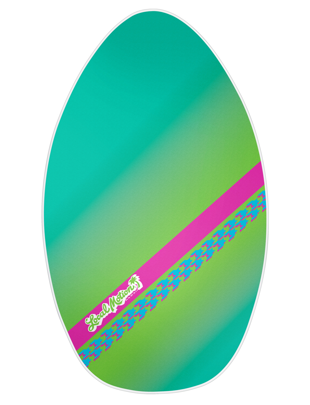 Local Motion Wood Skimboard 35""