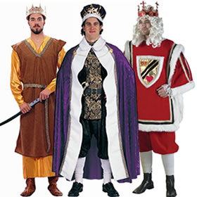 Mardi Gras King Costumes