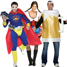 Mardi Gras Party Costumes