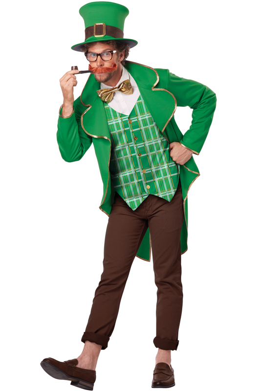 Men's Lucky Leprechaun Costume