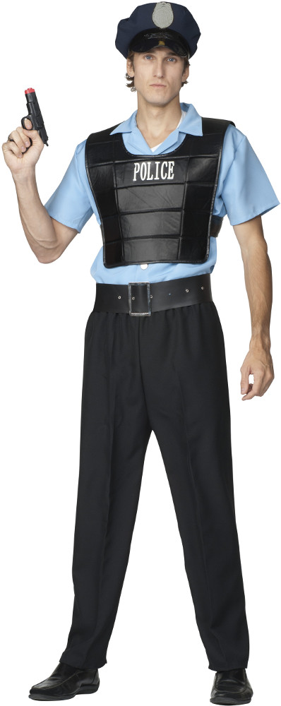 Men's Law Enforcer Costume