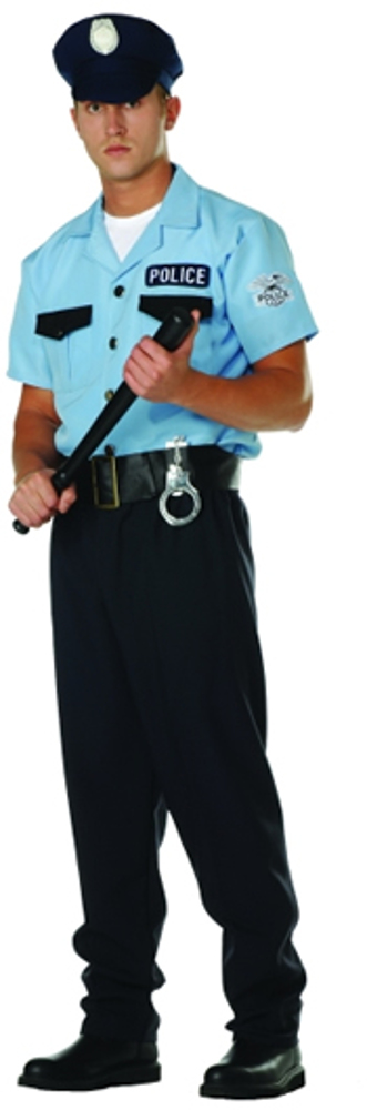 Mens On Patrol Costume