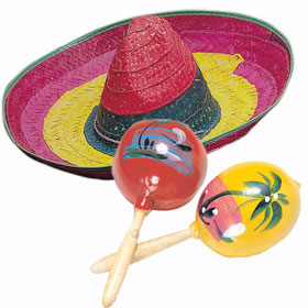 Mexican Costume Accessories