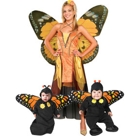 Monarch Butterfly Costumes
