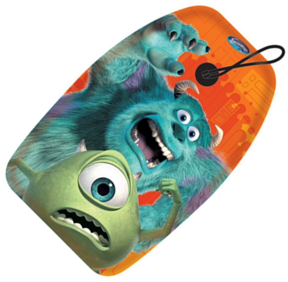 Monsters Inc Kids Bodyboard