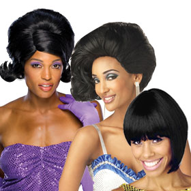Motown & Supremes Wigs
