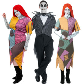 nightmare before christmas costumes - Nightmare Before Christmas Halloween Costume