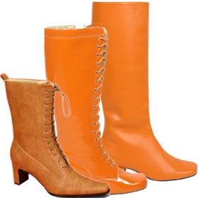 Orange Costume Shoes