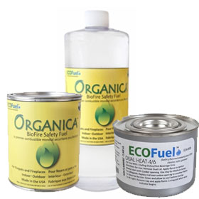 Organic Ventless Fire & Chafing Fuel