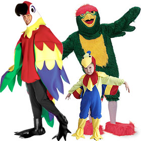 costume Adult parrot halloween
