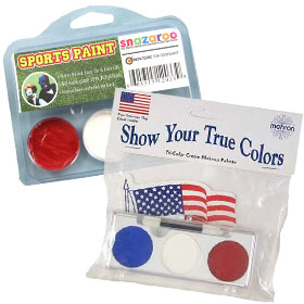 Patriotic Face Paint Makeup Kits