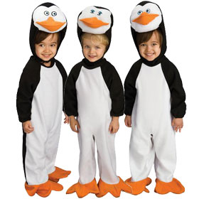 Penguins of Madagascar Costumes