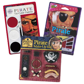 Pirate Costume Makeup Kits
