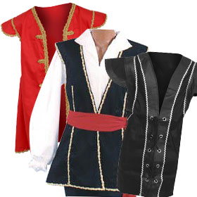 Pirate Costume Vests