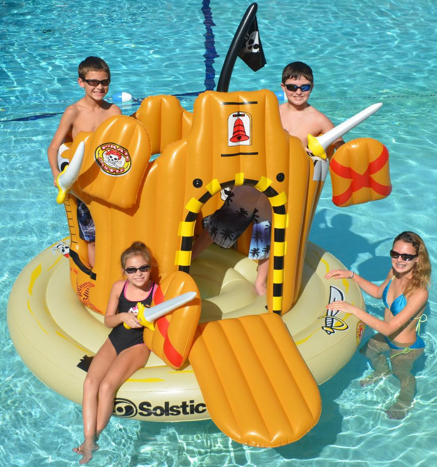 Pirate Island Pool Float