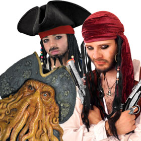 Pirates of the Caribbean Costume Accessories