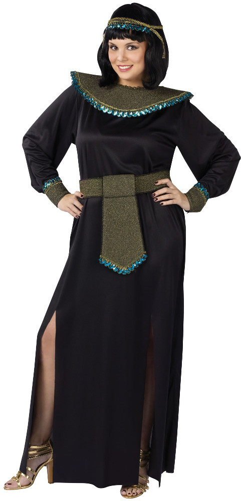 Plus Size Midnight Cleopatra Costume