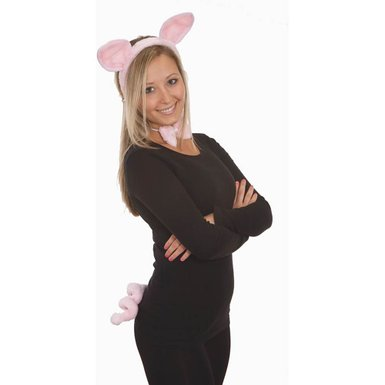 Plush Pig Set Costume Kit