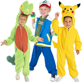 Pokemon Costumes