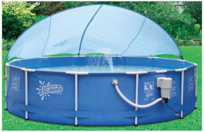 Buy A Pool Canopy For 14 39 16 39 Metal Frame Pools 097 010012 B For
