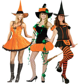 Pumpkin Witch Costumes