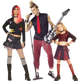Punk Rocker Costumes