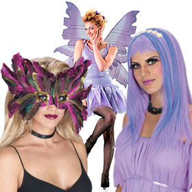 Purple Costume Accessories