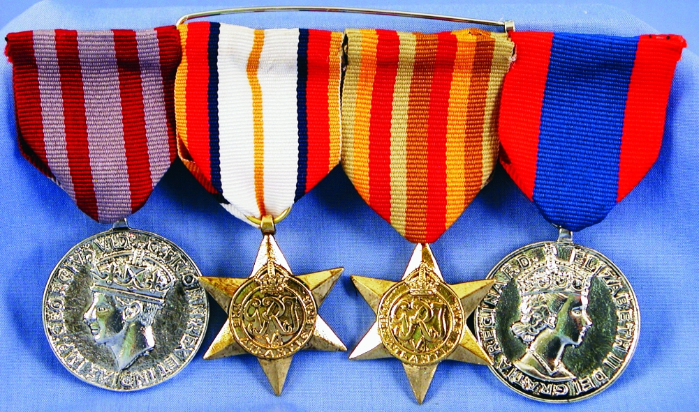 Quadruple War Medal
