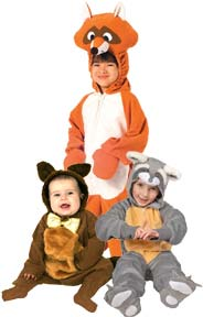 Raccoon Costumes