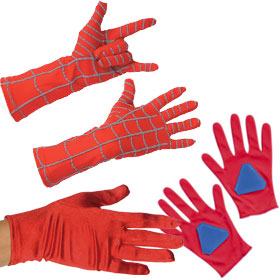 Red Costume Gloves