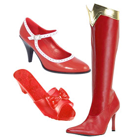 Red Costume Shoes