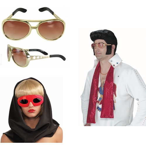 Rock Star Costume Glasses