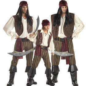 Rogue Pirate Costumes