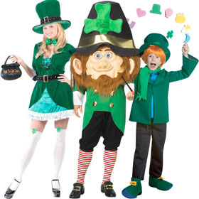 Saint Patrick's Day Costumes