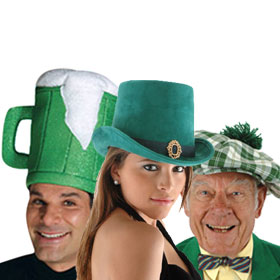 Saint Patrick's Day Hats