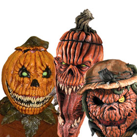 Scary Pumpkin Masks