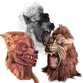Scary Werewolf Masks