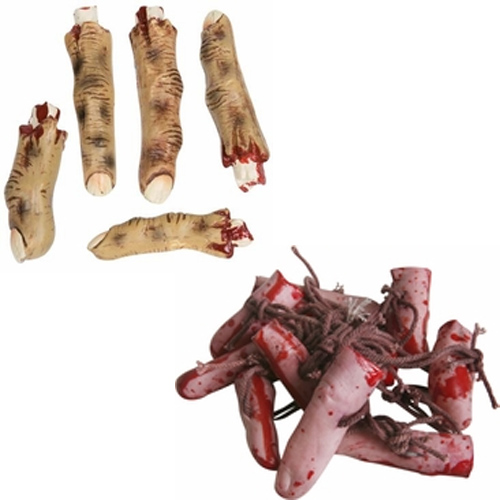 Severed Finger Props